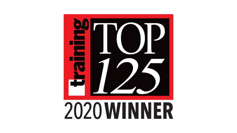 Training Magazine Network Top 125 2020 Winner logo.