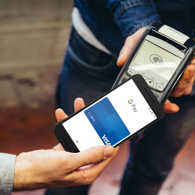 Android Pay on phone