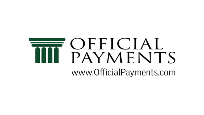 Official Payments logo.