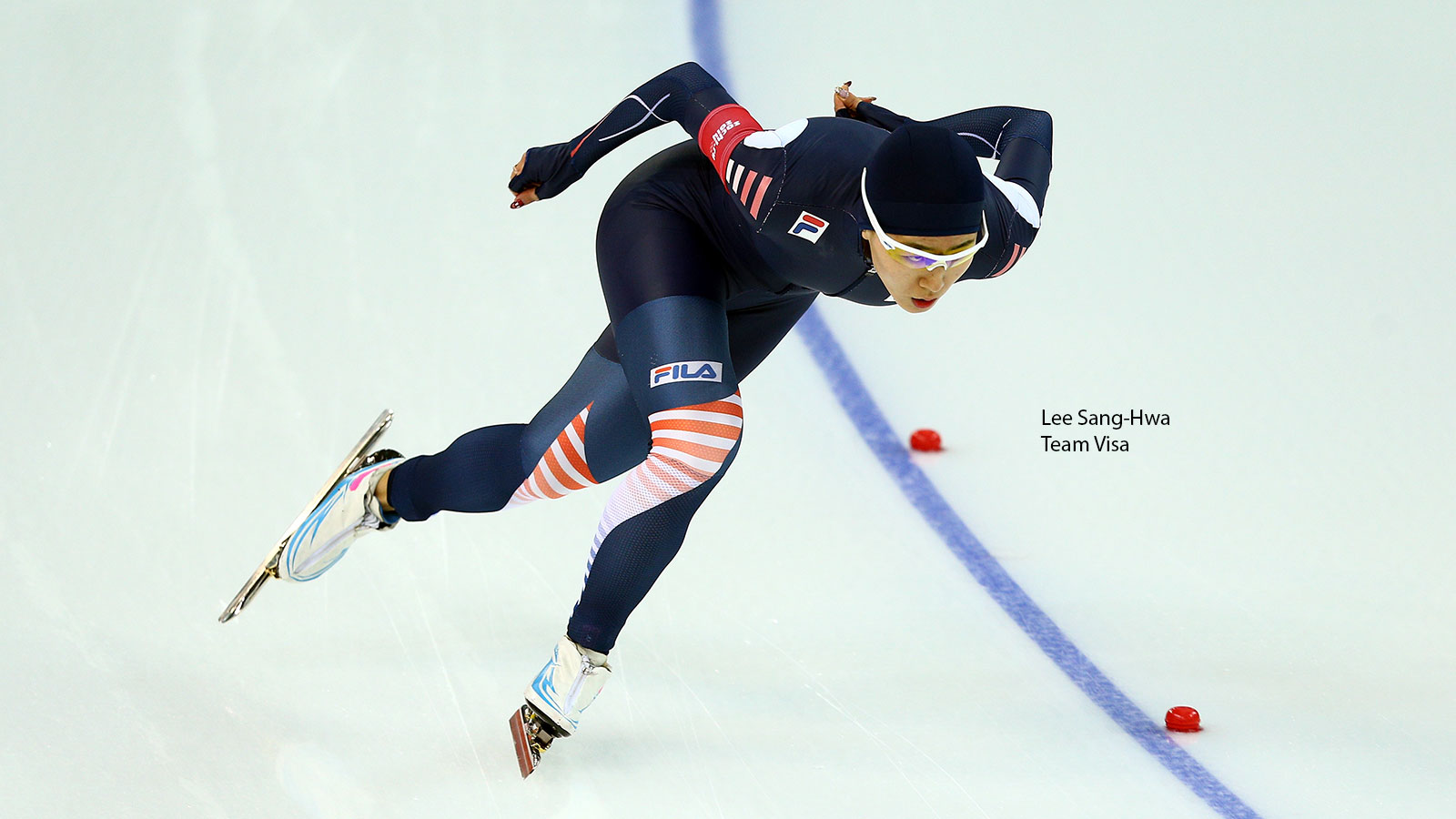 Lee Sang-Hwa, Team Visa speed skater