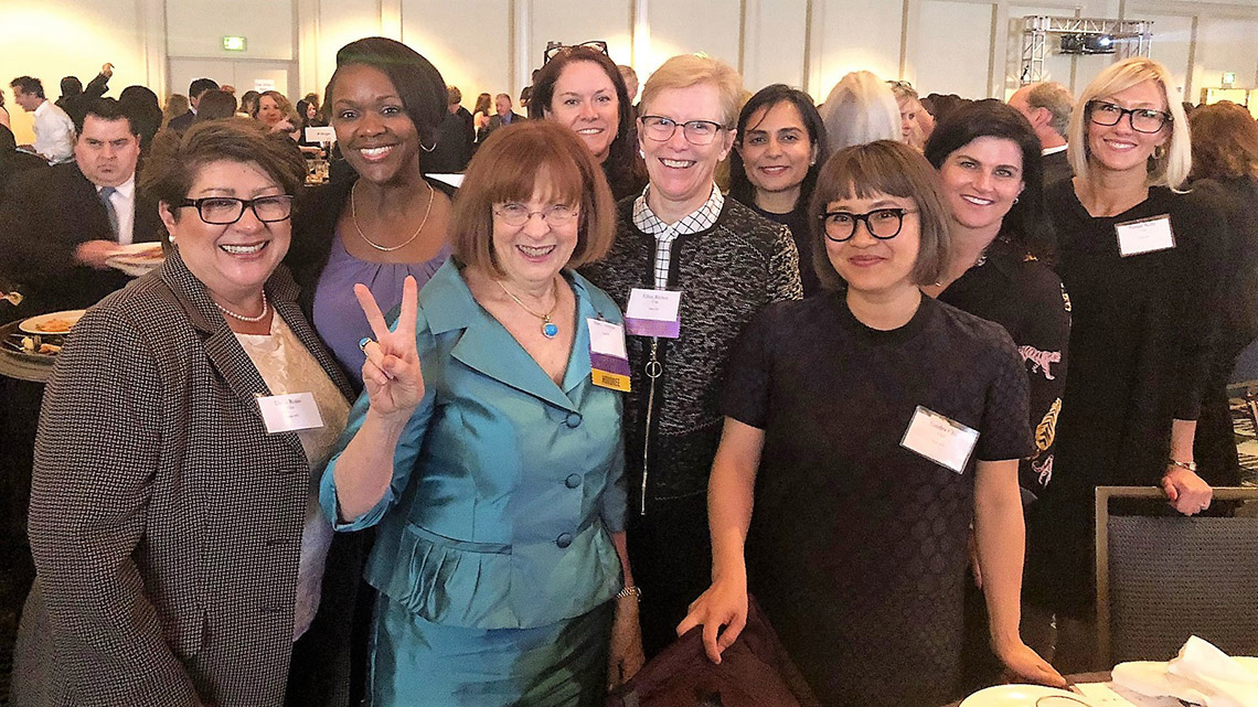 Group of Bay Area's most influential women including Jolen Anderson, Adama Iwu and Mary Cranston
