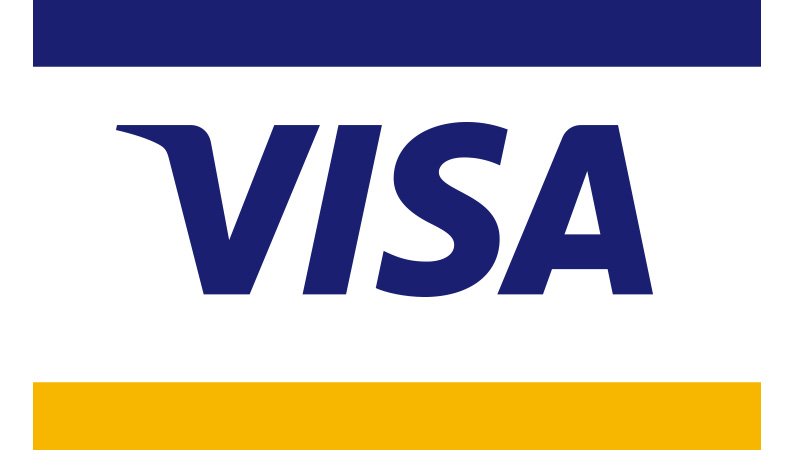 Full-color Visa POS graphic.