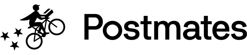 The Postmates logo.