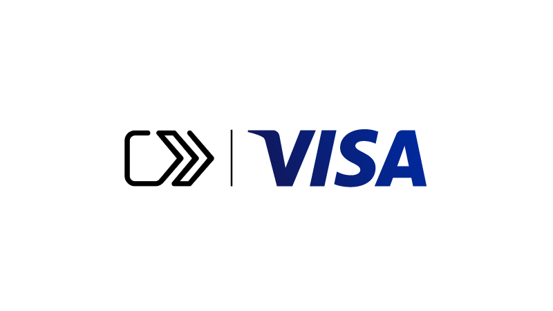 Secure Remote Commerce logo to the left of the Visa logo.