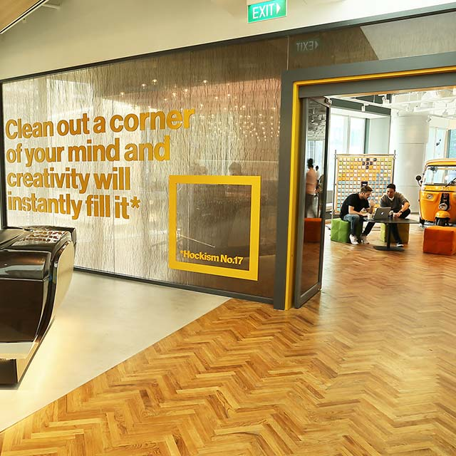 new innovation center in singapore